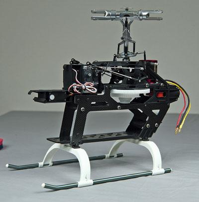 raptorE550 ARF-mechanik