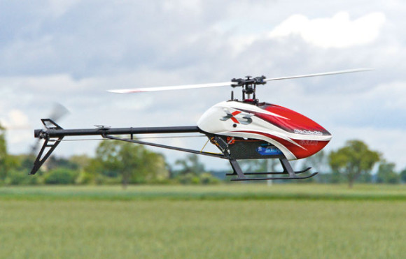 gaui-X3-rotor