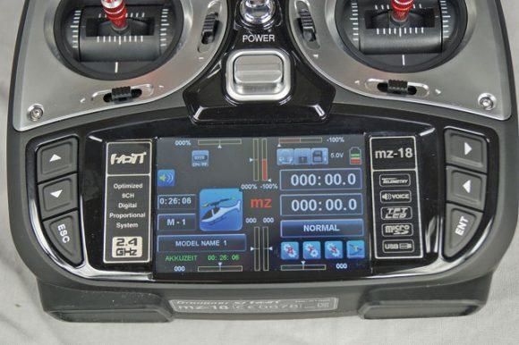 graupner-mz-18-display
