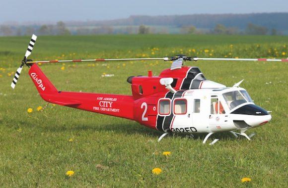 Klassische Schönheit: Die Bell 412 der SuperScale 800-Serie