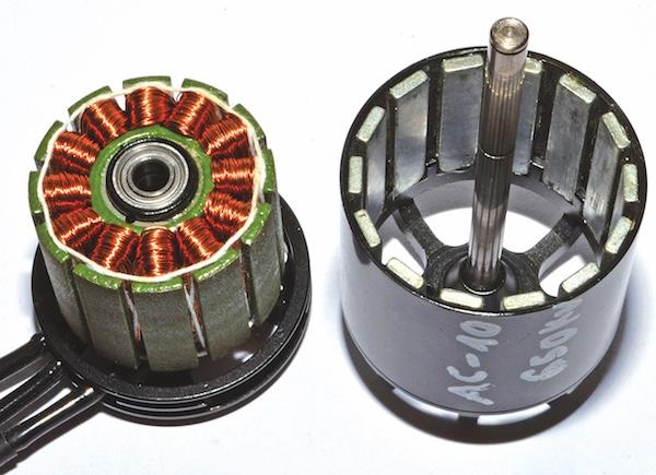 Basiswissen: Aufbau und Funktion von Brushless-Motoren