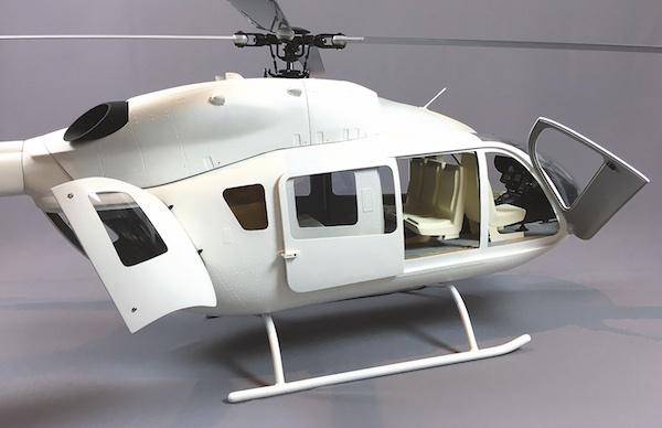 First Look: Die neue EC 145-T2 (H145) von Roban