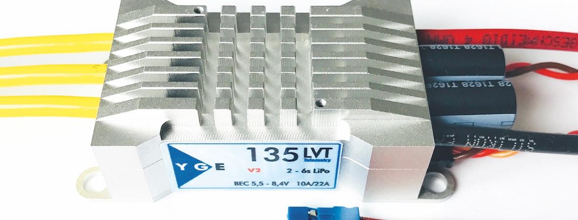 Für hohe Anforderungen: YGE 135LVT (V2)