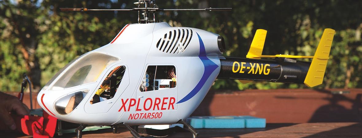 XPLORER – ein NOTAR-Eigenbauprojekt in 500er Größe