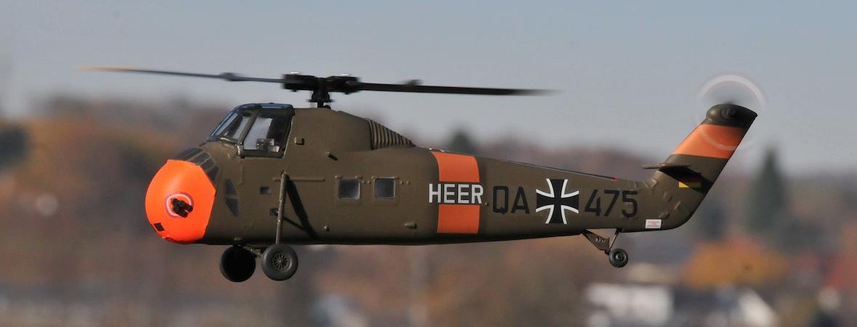 Blade mCP S mit Sikorsky S-58-Rumpf