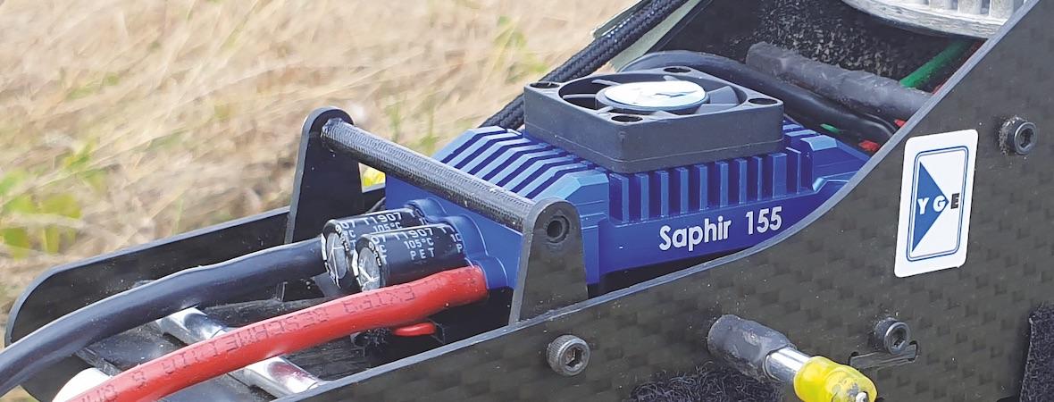 Der neue YGE 155 Saphir