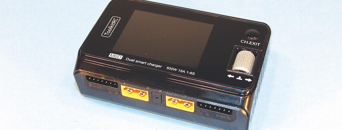 Der M6D Dual-Lader von ToolkitRC