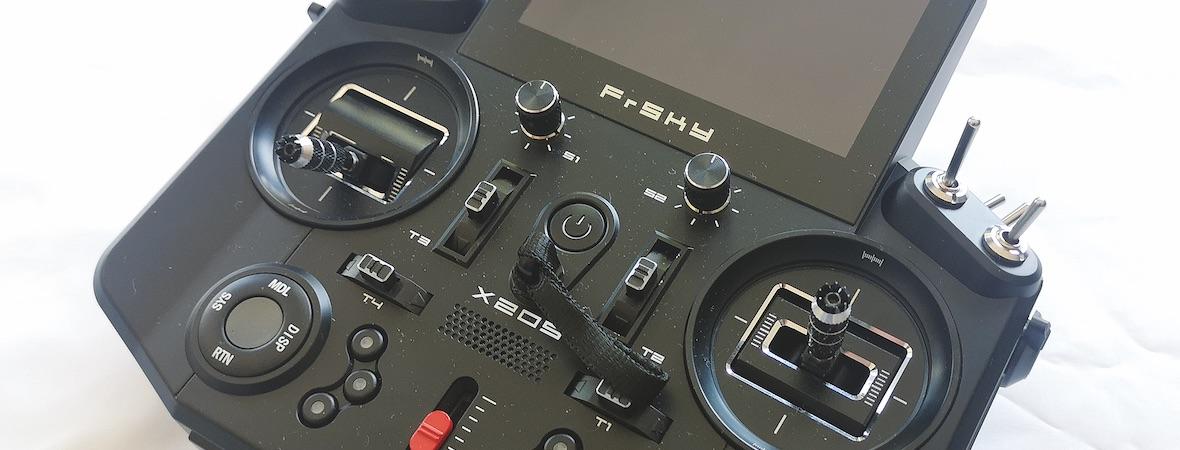 First look: FrSky Tandem X20S mit Ethos-Betriebssystem