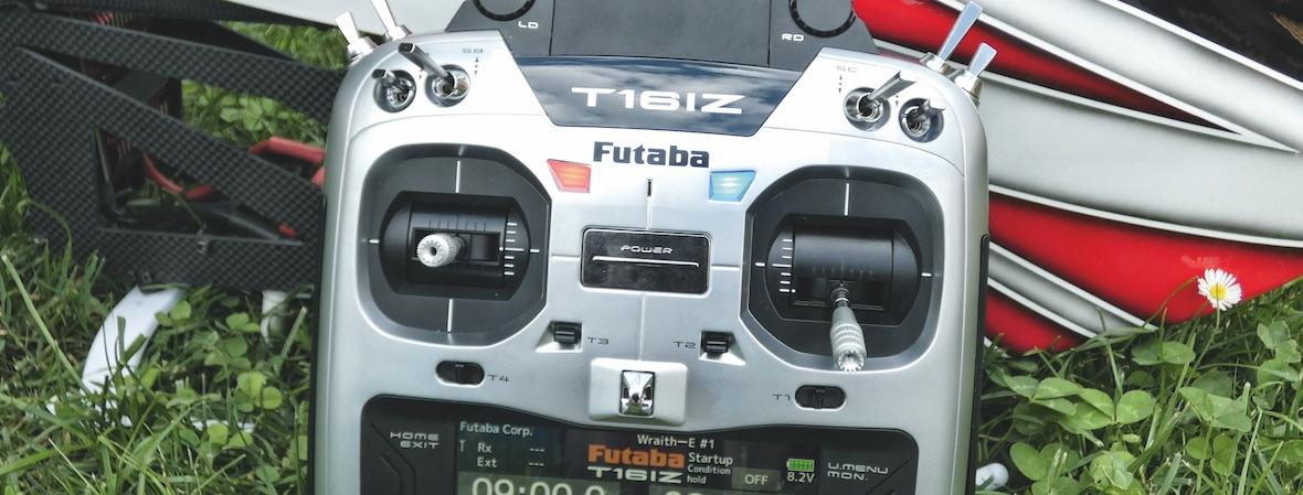 First look: die neue Futaba T16iZ